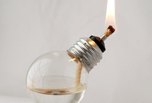 LIGHTING LAMPS / Creative Lighting Ideas, some crafts / by Melinda Hase