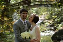 Elope at Asheville-Area Gardens / Weddings performed at a park that grows and protects WNC's native flora and fauna along with footbridges over a bubbling creek and a hidden Appalachian-style cabin.