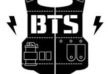 BTS / Members: Rap Monster, Jin, Suga, Jimin, V, J-hope, Jungkook