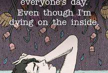 Sadness & overthinking