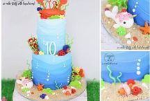 Birthday Cakes by Design at 409 / All work created and crafted by Stacey Johnson of Design @ 409 - www.designat409.com