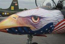 Aircraft Artwork / Art on aircraft / by Ian Thomas