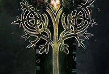 Fantasy Forest . Лесные сказки. / Cernunnos. Green man. Dryad. Fairy.