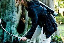 Bow and archer.   Лук и стрелы.