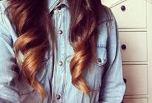 .Hair I wish I had.