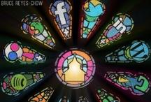 Kerk, religie & nieuwe media / Verzameld nieuws over nieuwe, sociale en realtime media. Geloof, kerk en religie / by Albert Wieringa