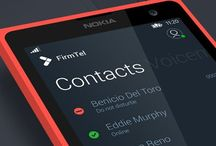 Interactive design / Mobile and tv user interface design UI / by Martin Reid