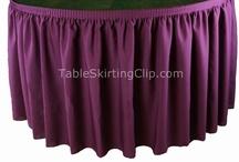 Executive Table Skirts