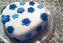 My  cakes with fondant :)