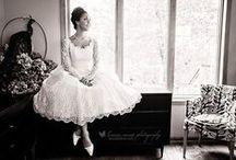 Wedding | Vintage Inspired Dresses / Wedding dress inspiration. Mostly 1950s and tea-length dresses.