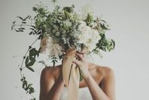 Wedding | Flowers / Bouquets / Beautiful bouquets and flower ideas for our yellow, white and mint wedding day.