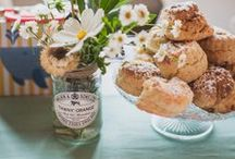 Wedding | Afternoon Tea / Ideas and recipes for our wedding breakfast