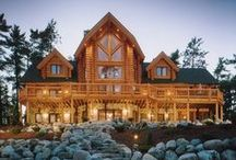 Log Home Living / One of my dream homes... / by Teresa Cimbron