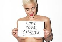 Curves Ahead / Curvy is not a synonym for fat or unhealthy. This board is dedicated to healthy images of woman who are curvaveous, feminine, soft, and strong.    / by Dormowa Sherman