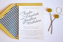 Wedding | Stationery Ideas / Wedding stationery