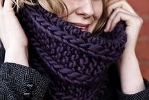 Knitting to be warm! / Hats, toques, headbands, sleepers, scarfs, cowls, mittens ......