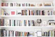 bookshelf / by linda // the baker who kerns