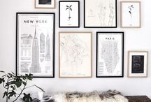 gallery wall / by linda // the baker who kerns