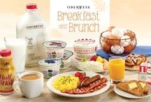 Breakfast: The Oberweis Way / Start your morning off right with an Oberweis breakfast! From on-the-go options to a deluxe family breakfast, Oberweis has you covered!