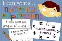 Math | 5th Grade / Lesson ideas for teaching 5th grade math.
