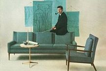 Mid-Century Modern / 1930s-1970s streamlined architecture and furniture and accessories.
