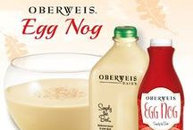 'Tis the Egg Nog Season / Oberweis Egg Nog is back for a limited time! Whether it is already part of your family holiday tradition or you're looking for something new to bring to the table, this Egg Nog is the perfect holiday indulgence!