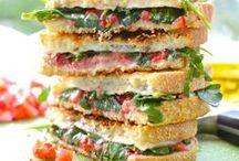 Sandwich + Burger Recipes