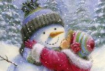 Hóemberek, rénszarvasok, angyalok