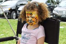 Purim 2015 Carnival / Our Face Painting and Balloon Twisting Services at the Purim Carnival in Miami at Temple Beth Am