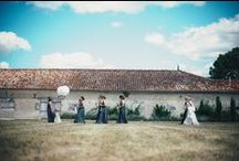Wedding in the Charente / A beautiful French wedding at Le Logis du Paradis in the Charente.