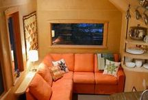 Small House Ideas / Would love to have a not-too tiny house some day, so ideas for living in less than 1,000 square feet!