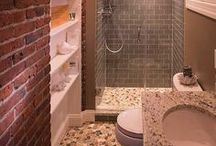 Baths / We can help you navigate through the renovation of your bathroom space. From cabinet selection and design, through helping you shop for your countertops, tiles and plumbing fixtures, we are with you the whole way.