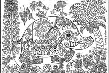 Apprendre à dessiner - Coloriages