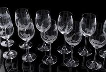 Hand-Engraved Glass / Gerald Webster's glassware is meticulously hand-engraved by master craftsmen in Bavaria.