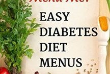 Diabetes Meal Planning & Diet Menus / Lots of ideas to take the hassle out of meal-planning.  Talk to your doctor about your calorie/carb needs then get your diabetes meal planning tips here!