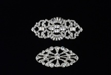 Homa Bridal - Stylish Brooches / An understated accessory with overstated effect - stunning Swarovski Crystal bridal accessories