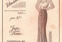 Sewing Patterns:  French & European