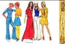 Sewing Patterns : 1970's