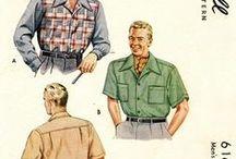 Sewing Patterns : MEN'S RETRO
