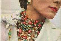 Vintage Jewelry Advertising / Classic style, Classic pieces of jewelry... never go out of fashion!      www.yummytreasures.etsy.com