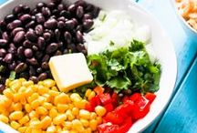 Lighter Mexican/Spanish Food / Lighter, healthier versions of your favorite Mexican recipes!