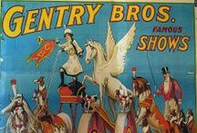 Dog and Pony Show / Small traveling circuses in the late-19th and early-20th centuries. They toured through small towns. Dogs and ponies were the main attraction of the event.   Now it means something completely different, if you catch my drift.