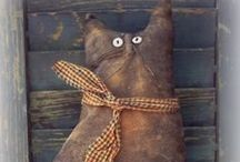 PRiMiTivE: bEcAUse i LiKE iT / As with Shabby Chic style, i also have a great fondness for Primitive style. It is interesting to look at and very creative. / by Kathy Kotinek Stern