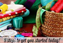 Creative Pursuits - Sewing / Sewing projects, patterns, ideas