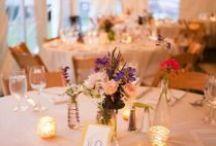 Inspiration: Wildflowers / Inspiration for wedding decor with wildflowers.
