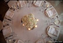 Inspiration: All White Everything / All white and ivory wedding and event design.