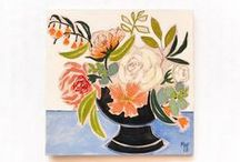 MAF Paintings / Original Paintings direct from Artist. Floral Paintings.