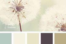 Farbschemata / Alle möglichen Farbschemata, die mir im Web über den Weg laufen.