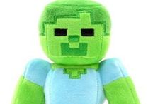 Minecraft Merchandise Plush Toys / Quality Minecraft Plush Toys that can be good to cuddle with! :)