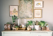 Accessorize & Style / Vignettes, styling and home decor ideas
